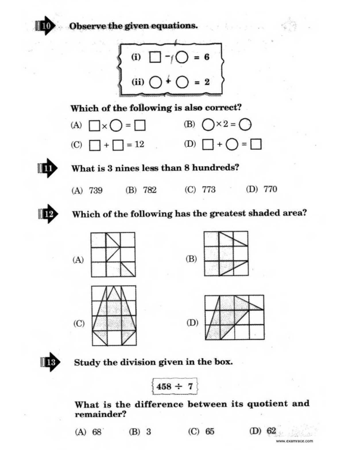Nstse Sample Papers For Class 8 Pdf