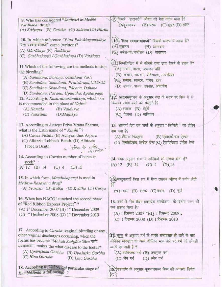 ayurveda pg entrance notes pdf free download