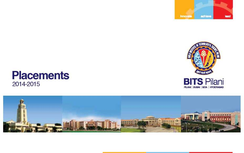 Bits Hyderabad Good Placements
