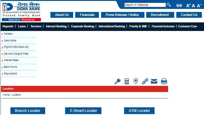 Dena bank forex branches