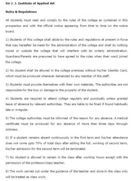 Jj School Of Arts Part Time Photography Course Page 2 2020 2021 Studychacha