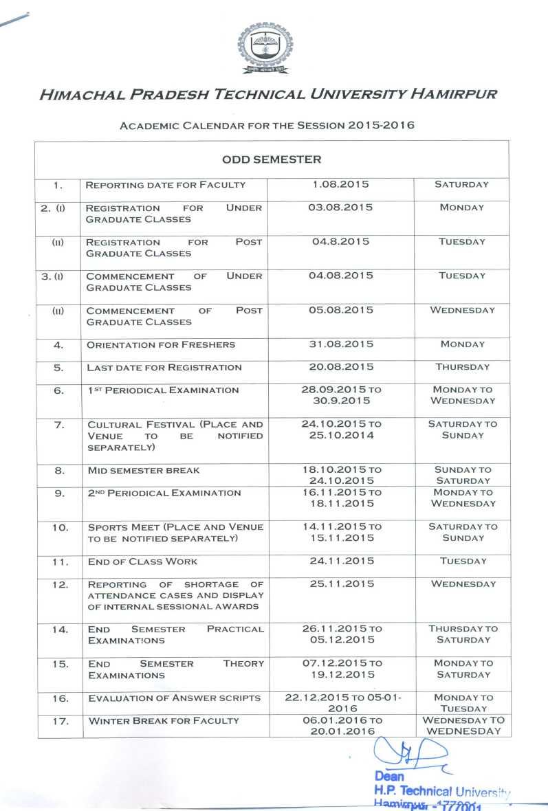 Byu 2022 Academic Calendar.Hptu Academic Calendar 2021 2022 Studychacha