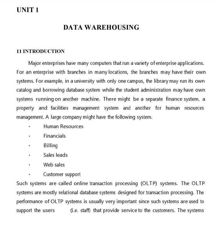 VTU Data Mining Notes - 2019-2020 StudyChaCha