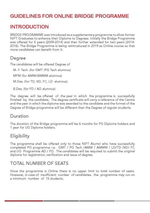 Nift Bridge Program Syllabus 2020 2021 Studychacha